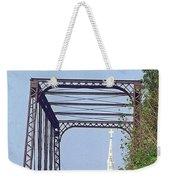 Bridge To God Weekender Tote Bag