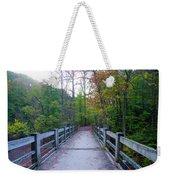 Bridge To Paradise - Wissahickon Valley Weekender Tote Bag