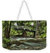 Bridge To Serenity Weekender Tote Bag