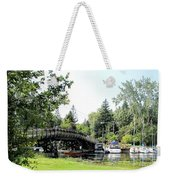 Bridge To The Club Weekender Tote Bag