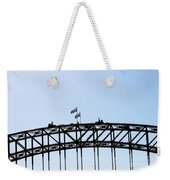 Bridge Walk Weekender Tote Bag
