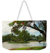 Bridges At Wailoa Weekender Tote Bag