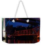 Bridges Red White And Blue Weekender Tote Bag