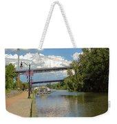 Bridges Spanning The Rondout Weekender Tote Bag