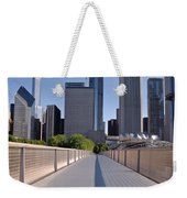 Bridgeway To Chicago Weekender Tote Bag