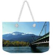 Bridging The Seasons Weekender Tote Bag