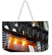 Bridlington Priory Pipe Organ Weekender Tote Bag