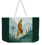 Brief Encounter With The Tall Man Weekender Tote Bag