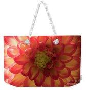 Red And Yellow Flower Bloom Weekender Tote Bag