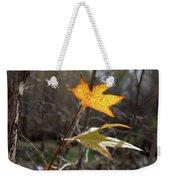 Bright And Sunlit Leaf, Arizona Weekender Tote Bag