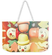 Bright Beaming Clown Show Act Weekender Tote Bag