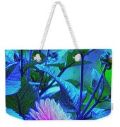 Bright But Modest, Dahlia Mom. Weekender Tote Bag