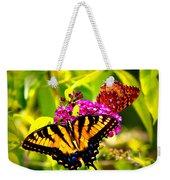 Bright Butterflies Weekender Tote Bag