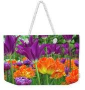 Bright Floral Weekender Tote Bag
