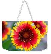 Bright Floral Day Weekender Tote Bag