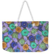 Bright Flowers Weekender Tote Bag