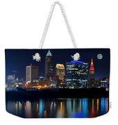 Bright Lights City Nights Weekender Tote Bag
