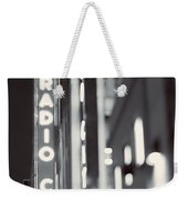 Bright Lights In The City Weekender Tote Bag