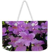 Bright-lillac Flowers 6-22-a Weekender Tote Bag