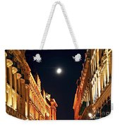 Bright Moon In Paris Weekender Tote Bag by Elena Elisseeva