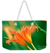 Bright Mother's Day Card Weekender Tote Bag
