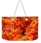 Bright Orange Rhodies Art Prints Canvas Rhododendons Baslee Troutman Weekender Tote Bag