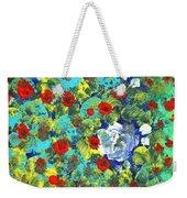 Bright Roses Weekender Tote Bag