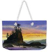 Bright Seacoast Sunset Weekender Tote Bag