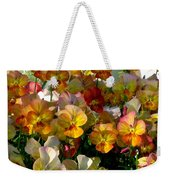 Bright Shining Faces Weekender Tote Bag