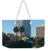 Bright Spot In Downtown Orlando Weekender Tote Bag