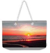 Bright Sunset Weekender Tote Bag