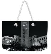 Bright White Lights At Night Weekender Tote Bag