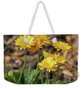 Bright Yellow Flowers  Weekender Tote Bag