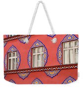 Brightly Colored Facade Vurnik House Or Cooperative Business Ban Weekender Tote Bag