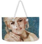 Brigitte Bardot, Actress Weekender Tote Bag
