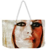 Brigitte Bardot By Mary Bassett Weekender Tote Bag