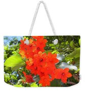 Brilliant Blossoms Weekender Tote Bag