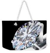 Brilliant Cut Diamond Weekender Tote Bag by Setsiri Silapasuwanchai