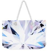 Brilliant Diamond  Weekender Tote Bag