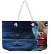 Brilliant Eyes Water Weekender Tote Bag
