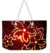 Brilliant Floral Abstract Weekender Tote Bag