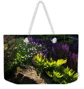 Brilliant Green Sunshine - Impressions Of Spring Weekender Tote Bag