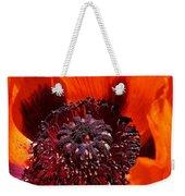 Brilliant Poppy Weekender Tote Bag