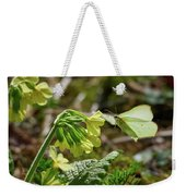Brimstone On Cowslip Primrose Weekender Tote Bag