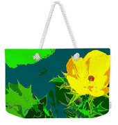 Brimstone Yellow Weekender Tote Bag