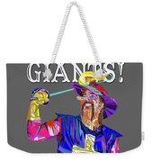 Bring Me Giants Tee Weekender Tote Bag