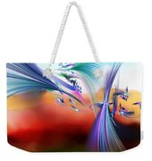 Bringing In The Light Weekender Tote Bag