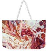 Bringing Into Life Fragment 2. Fluid Acrylic Painting Weekender Tote Bag