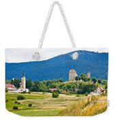 Brinje Village In Nature Of Lika Weekender Tote Bag