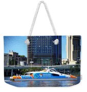 Brisbane City Cat. Weekender Tote Bag
